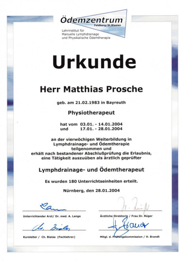 MLD-Zertifikat